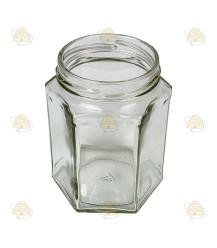 Hexagonale pot 278ml / 350g, zonder deksel