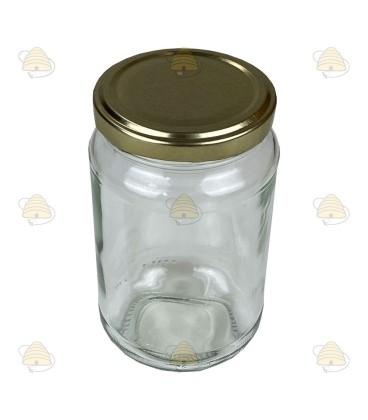 375 ml / 450 gram ronde pot, met deksel