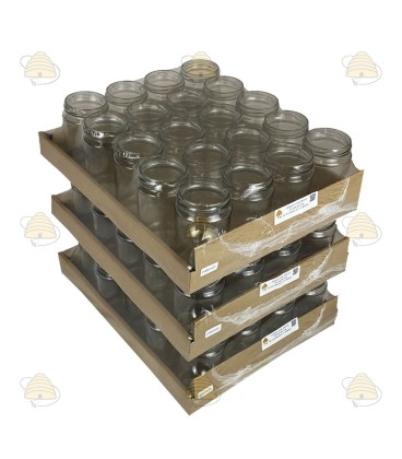 290 ml / 350 gram ronde pot, ZONDER deksel per 20 stuks