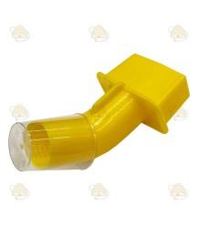 Zwermindicator voor de bijenkast