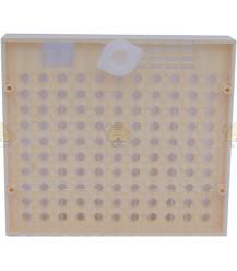 Nicot cassette met 100 omlarfdopjes