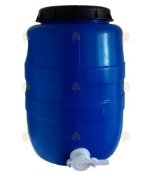 Aftapvat kunststof 55 liter