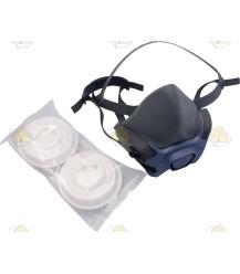 Half gelaatsmasker P3D