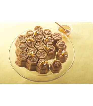 Honingraat cake met honing