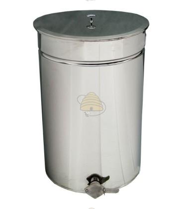 Aftapvat RVS 70 liter