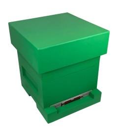 Groene polystyreen spaarkast bijenkasten