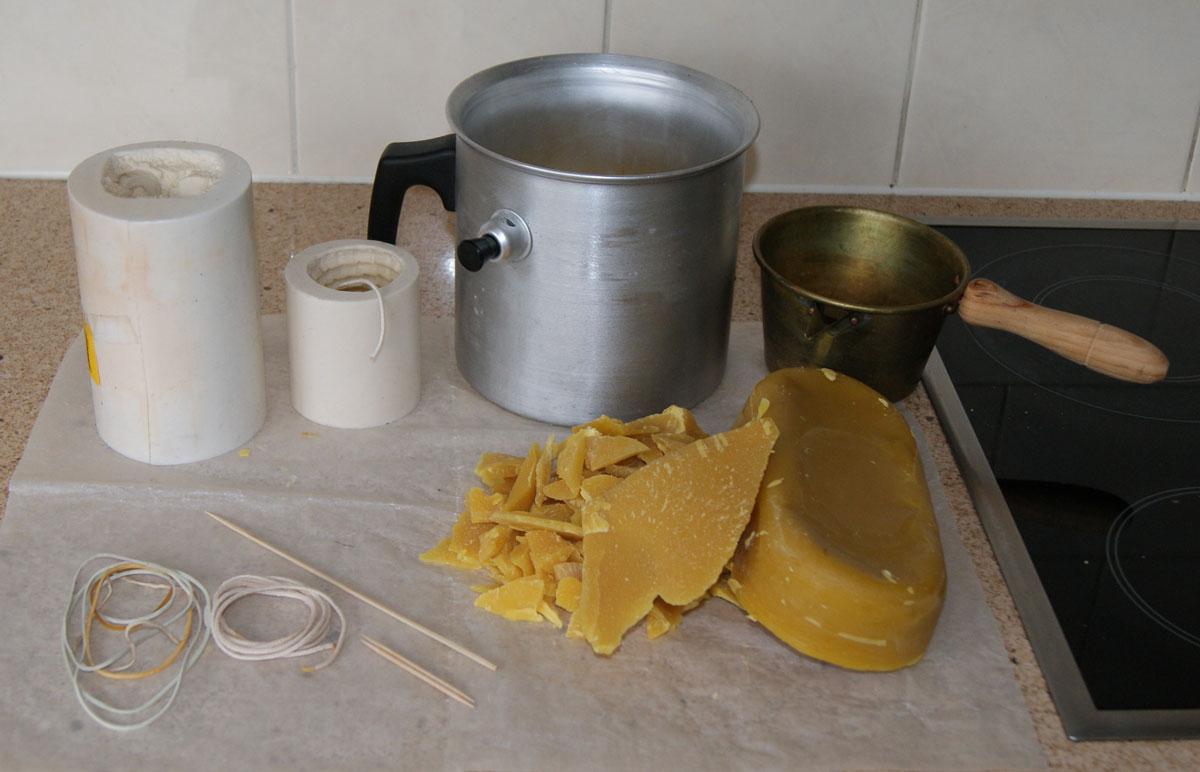 Bijenwas kaarsen maken hoe doe je dat - Een verwijderbare partitie maken ...